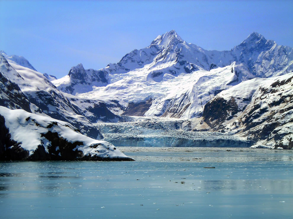 Johns Hopkins Glacier, Glacier Bay National Park, Alaska