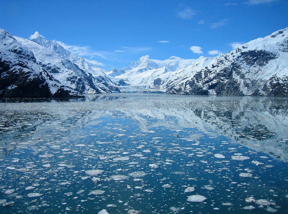 Johns Hopkins glacier at Glacier Bay's Glaciers