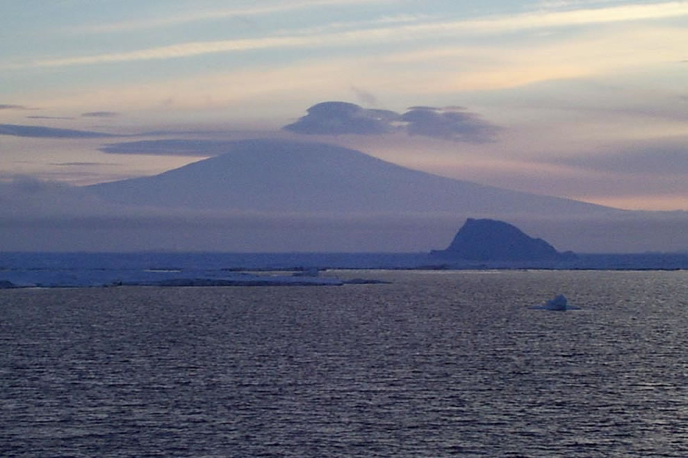 Siple Island and Mount Siple