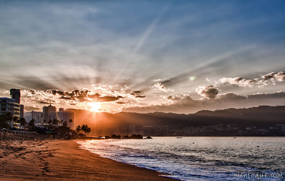 Sunrise at Acapulco Bay