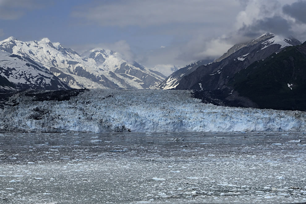 West of Hubbard Glacier, Turner Glacier