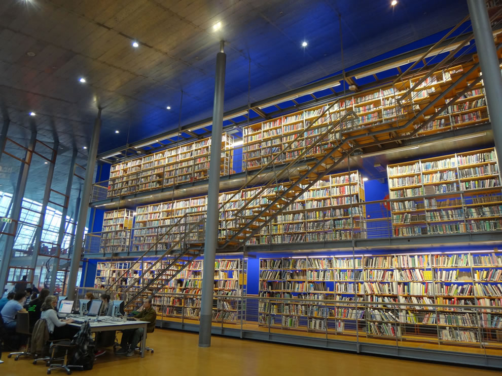 DOK, Delft Public Library, in Delft Holland