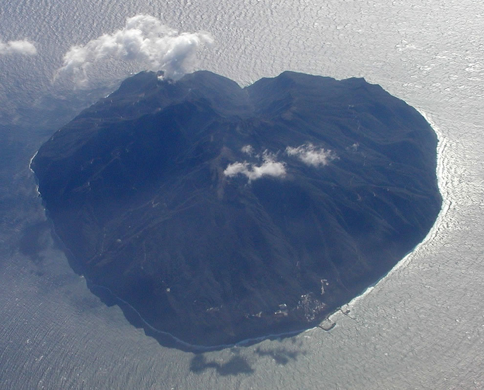 Heart Island near Bali, Indonesia