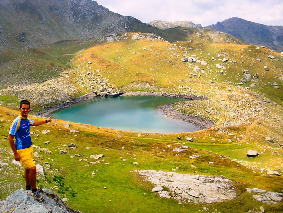Heart Lake - Kosovo Alps