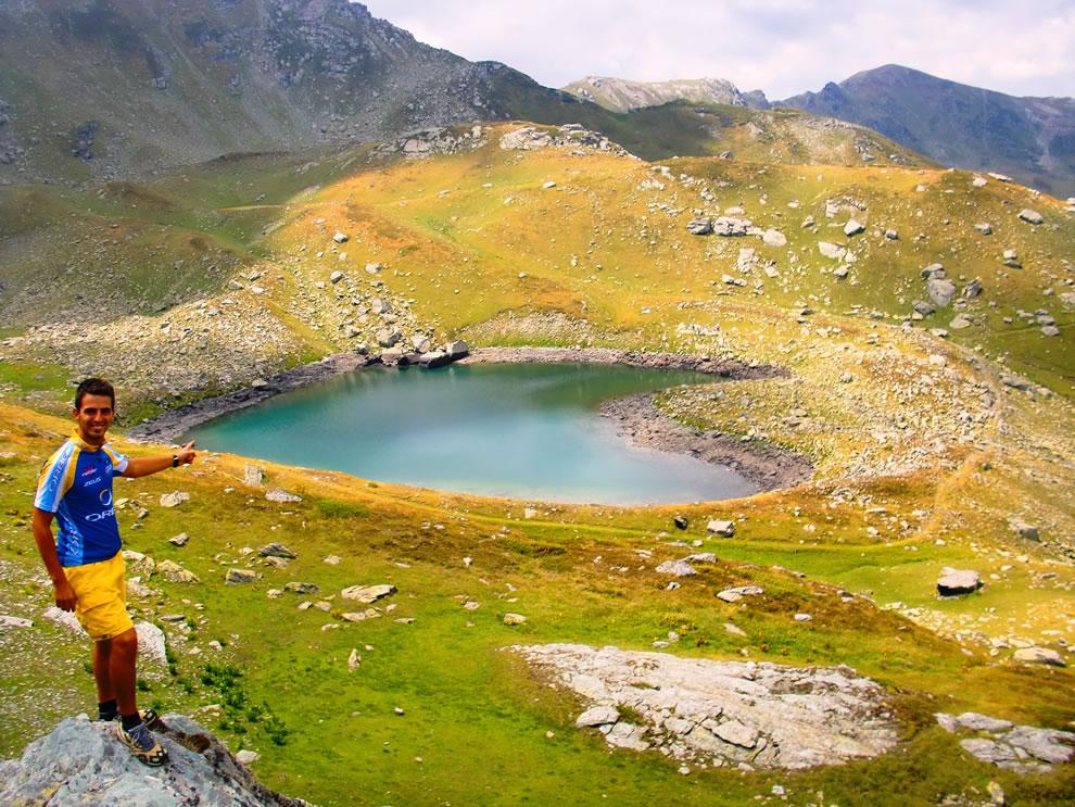 Heart Lake - Kosovo Alps