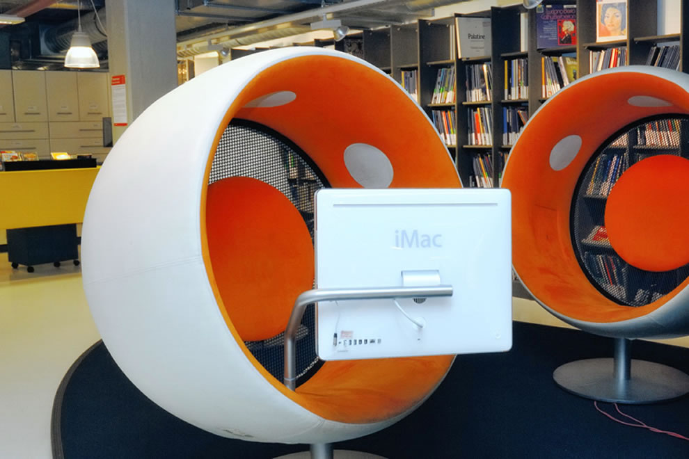 Netherlands, Famous DOK Library Listening Pods