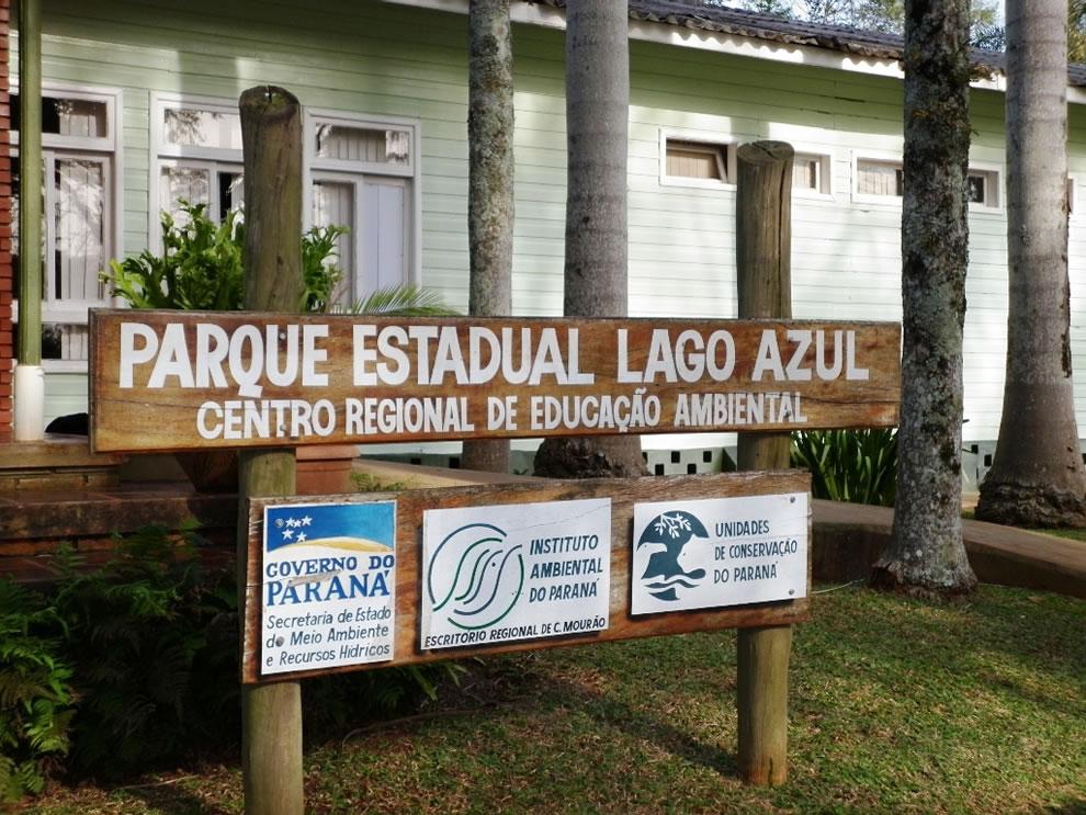 Parque Estadual Lago Azul State Park Blue Lake
