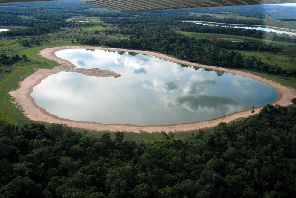 Salina Heart, Salina do Coração Pantanal MS