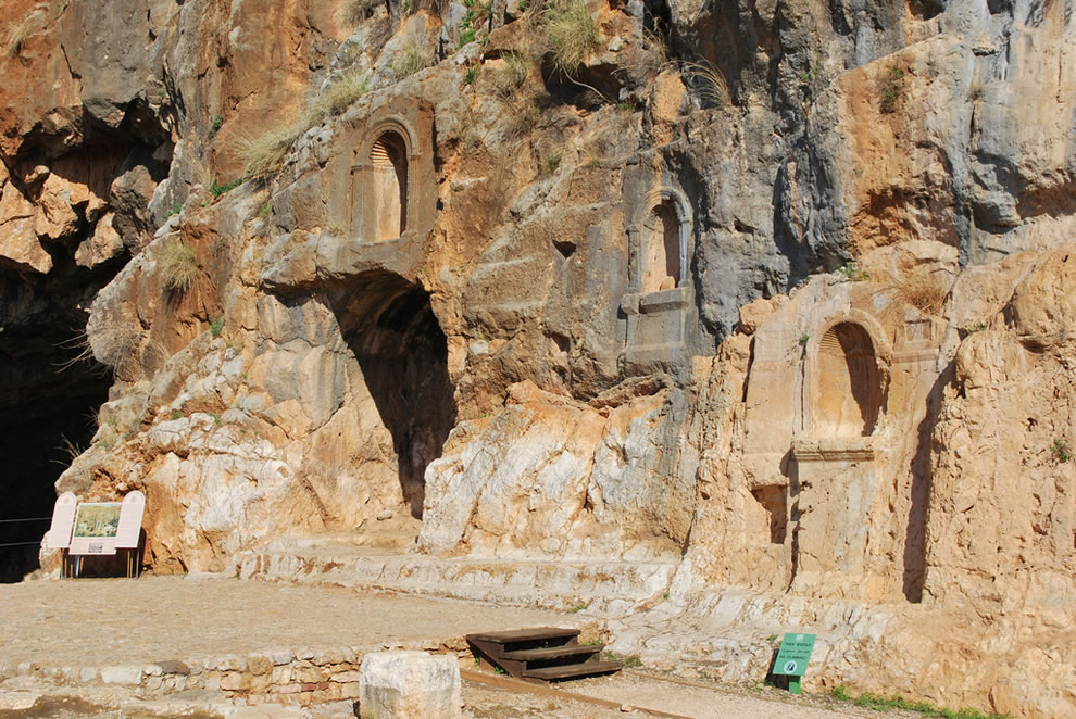 Caesarea Philippi, the site of Peter's confession