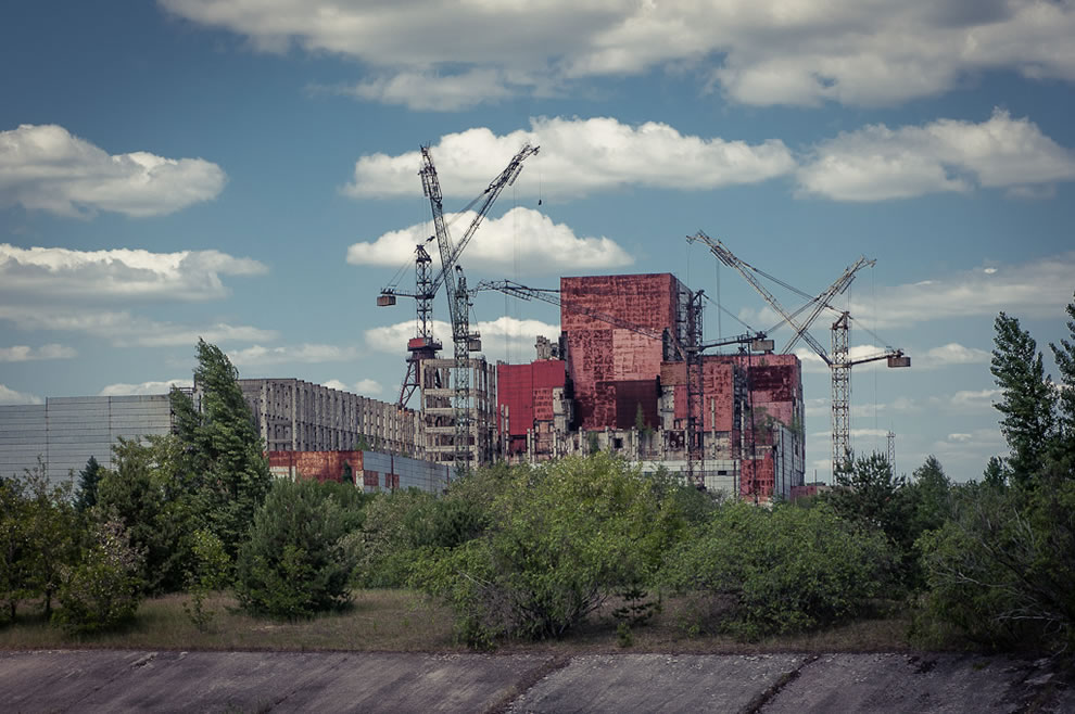 Chernobyl Reactors 5 &amp; 6 on June 3, 2012