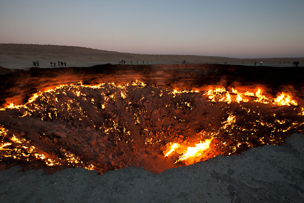 Door to Hell on Golden Eagle Silk Road
