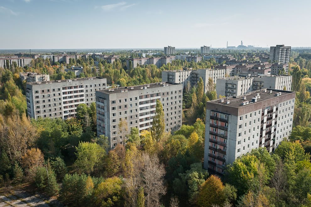 Autumn in Pripyat, October 2012