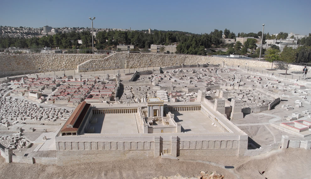 The Holyland Model of Jerusalem in the late Second Temple period