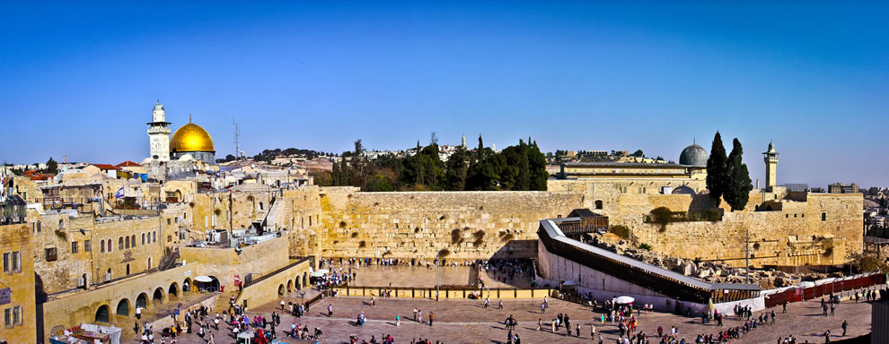 The Noble Sanctuary in Jerusalem, Western Wall