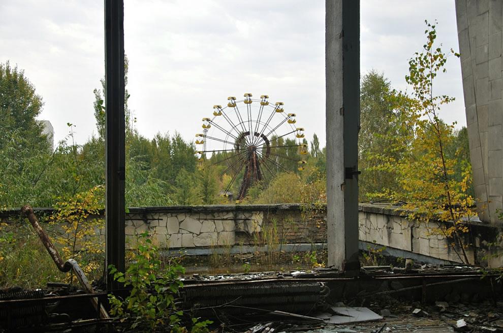 Urbex Chernobyl Exclusion Zone in autumn 2012
