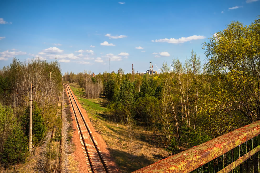 View from the Bridge of Death in April 2012
