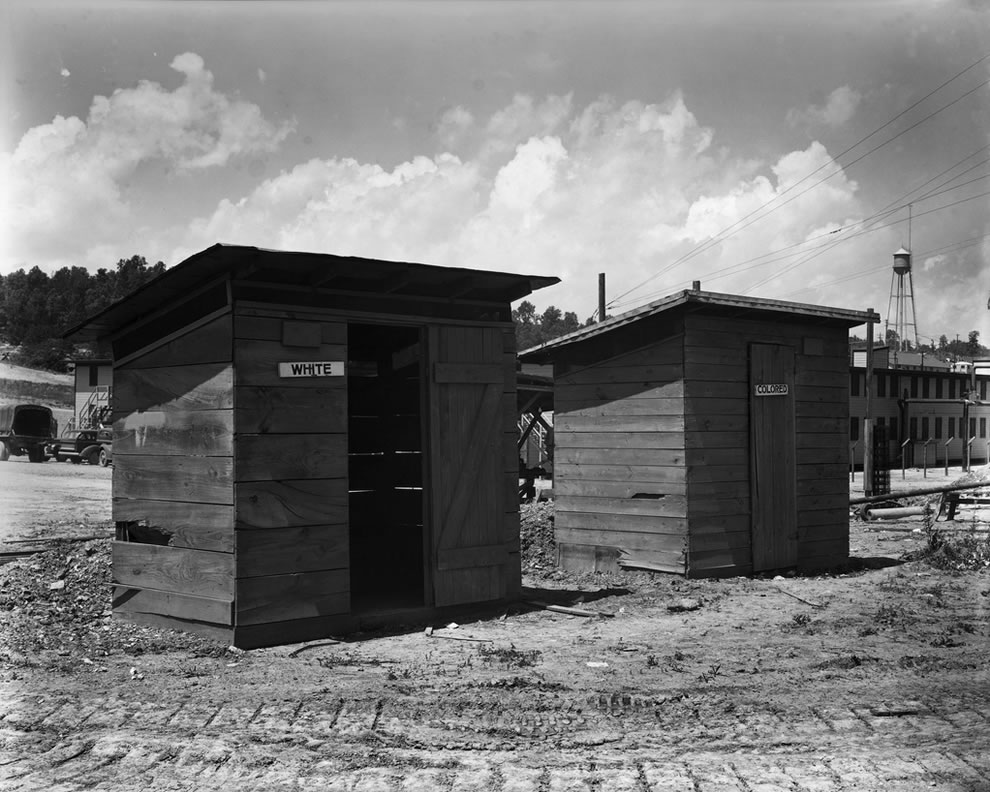 1943 Outdoor Privies Oak Ridge Tennessee