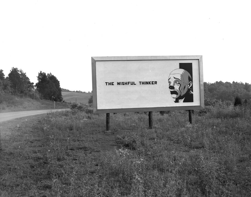 1960 Security Billboard Oak Ridge TN, the wishful thinker