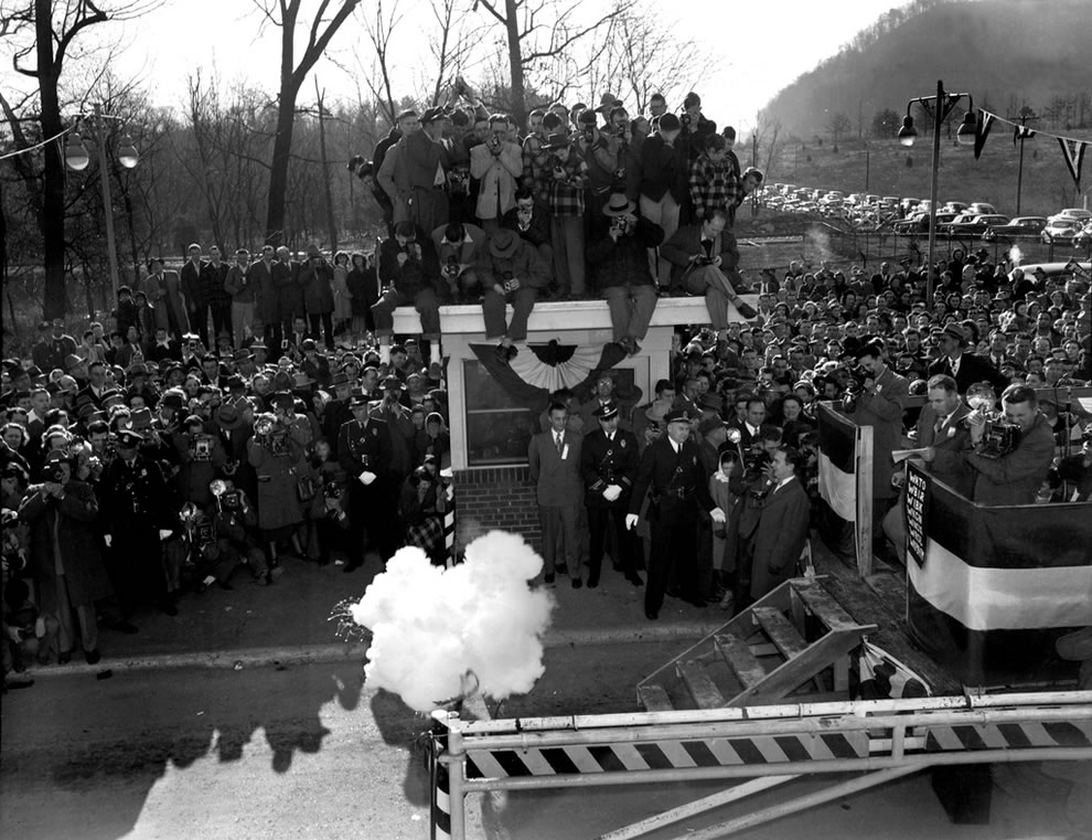 Gate Opening Celebration Elza Gate Oak Ridge Tennessee 3-19-1949