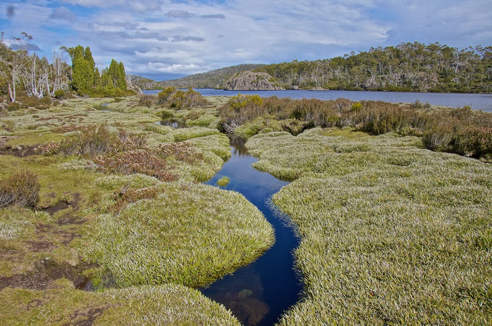 Lake Ball, Walls Of Jerusalem in Tasmanian Wilderness, Tasmanian Wilderness World Heritage Area