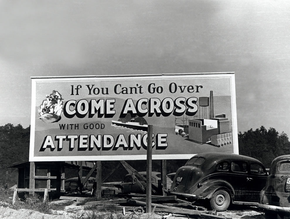 October 1943 Attendance Billboard Oak Ridge Tennessee
