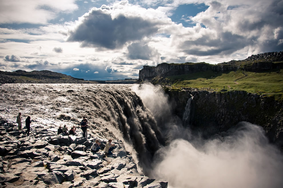 The most powerful waterfall in Europe, Dettifoss was used in the opening scene of Prometheus the movie