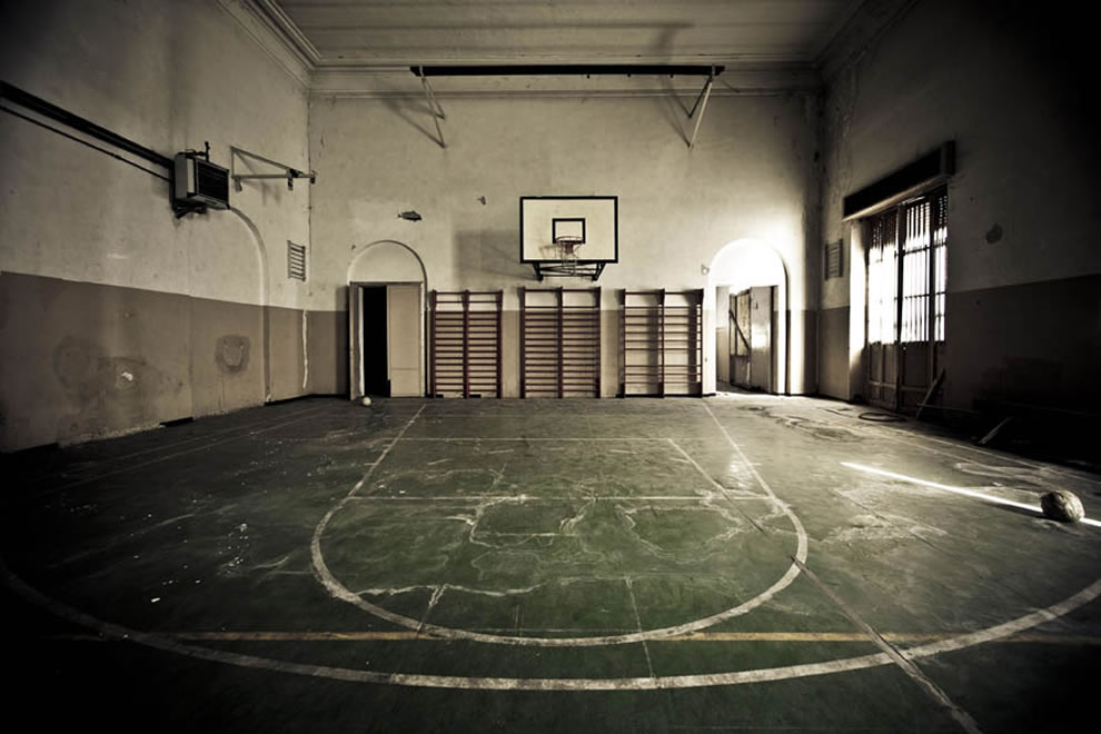 Playoffs forgotten at an abandoned reform school