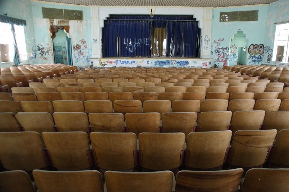 The School Play, abandoned Texas school