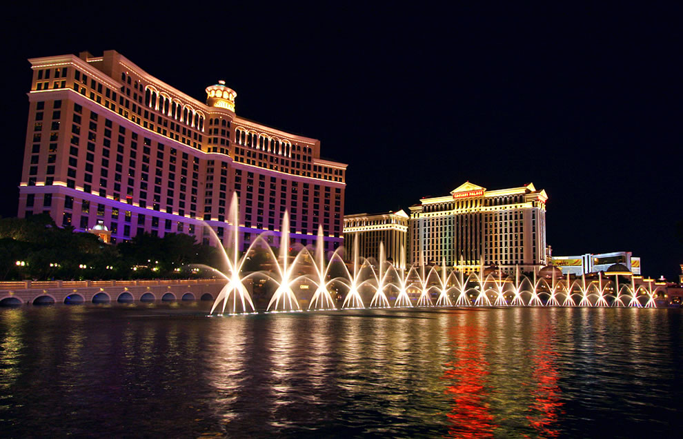 Amazing Bellagio Fountains