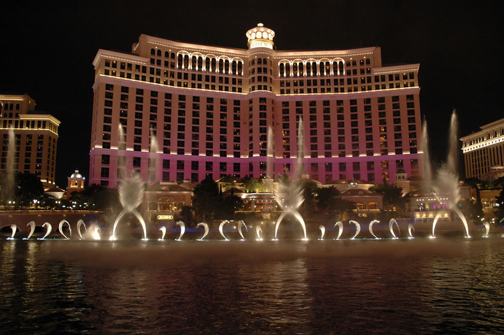 Bellagio Fountains, Casino and Hotel