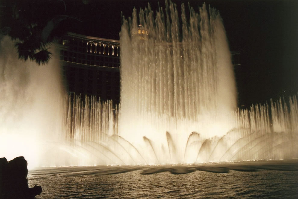 Bellagio, most expensive hotel ever built at the time of its opening on October 15, 1998
