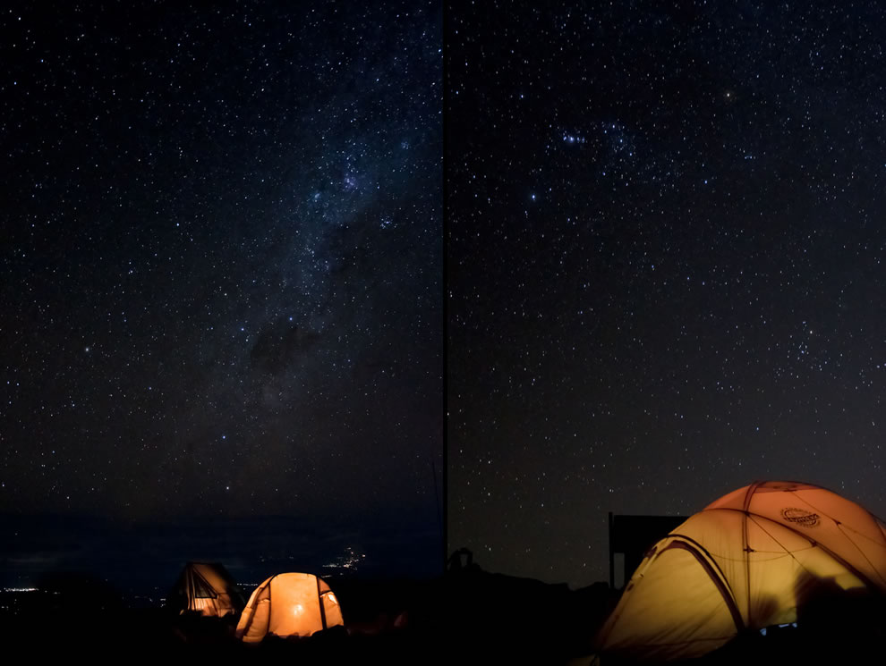 Camp Barafu, the last campsite on Mt Kilimanjaro before the summit