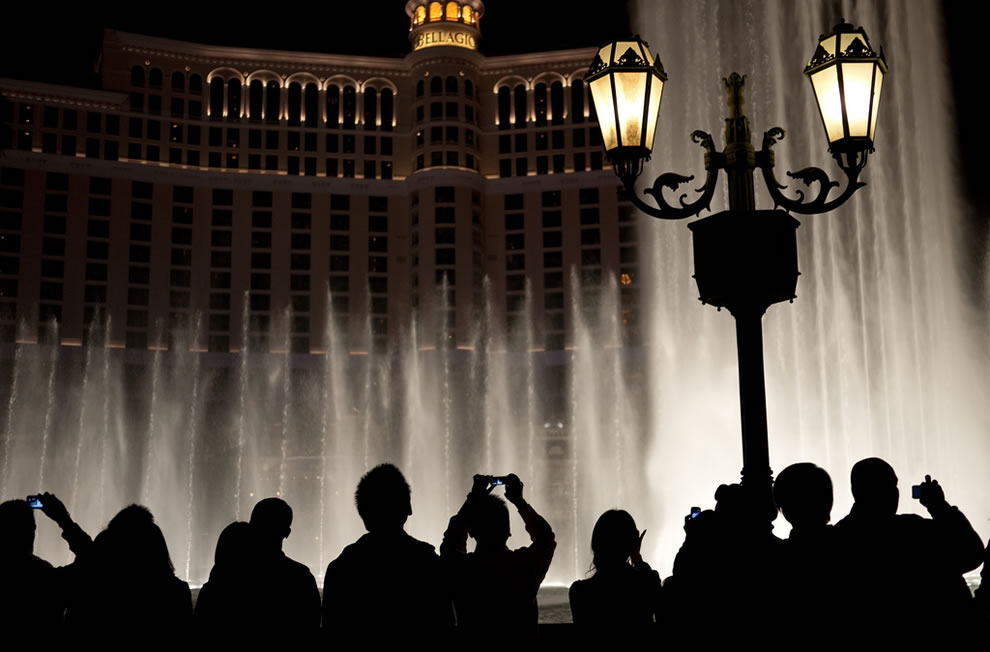 Fountain Silhouettes
