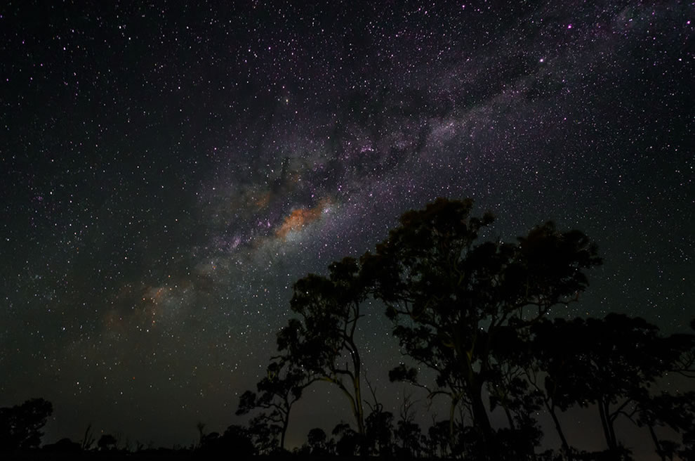 Milky Way in the Bush, Bundaberg, Queensland, Australia