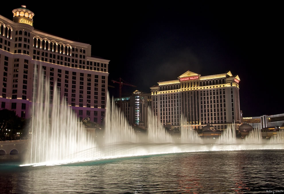 Vegas - Bellagio Fountains