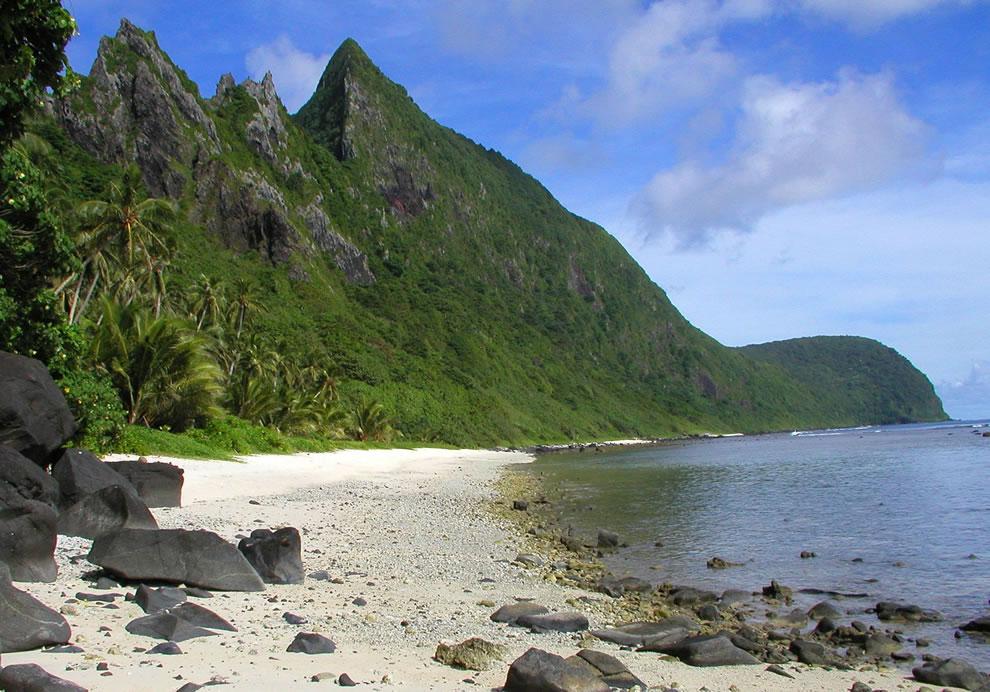 Beach at Ofu, American Samoa