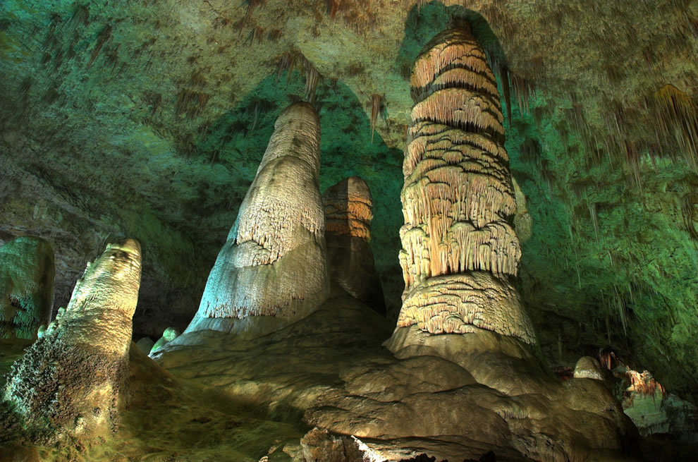 Carlsbad Caverns National Park, Hall of Giants