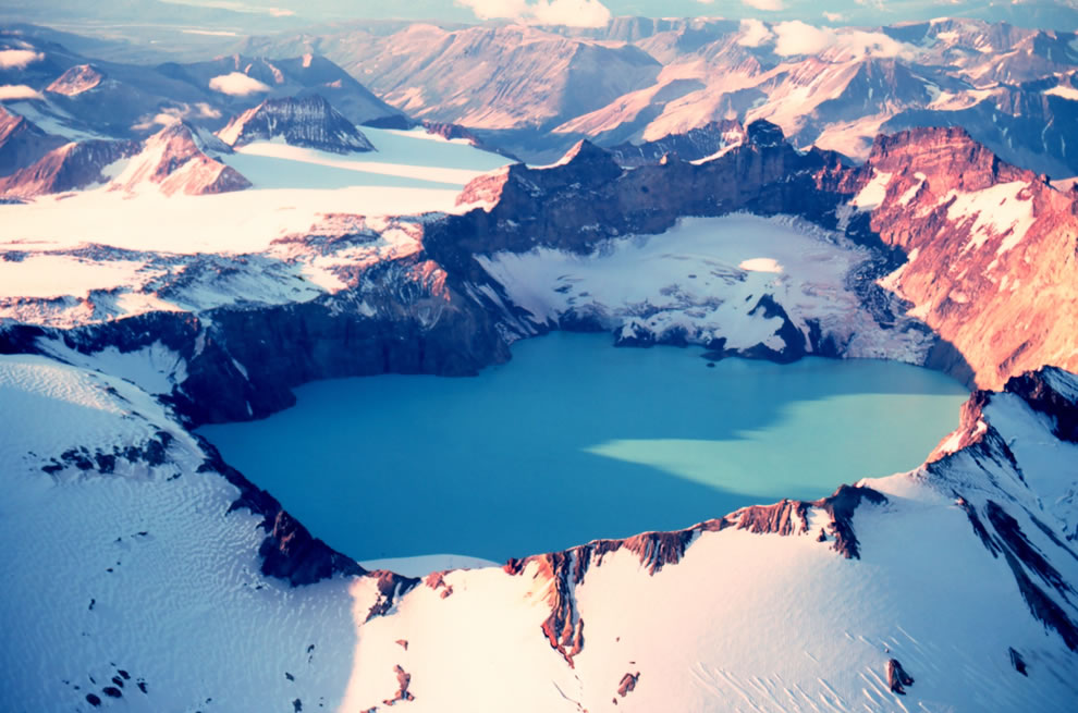 Katmai Crater - Mount Katmai, Alaska, Katmai National Park and Preserve