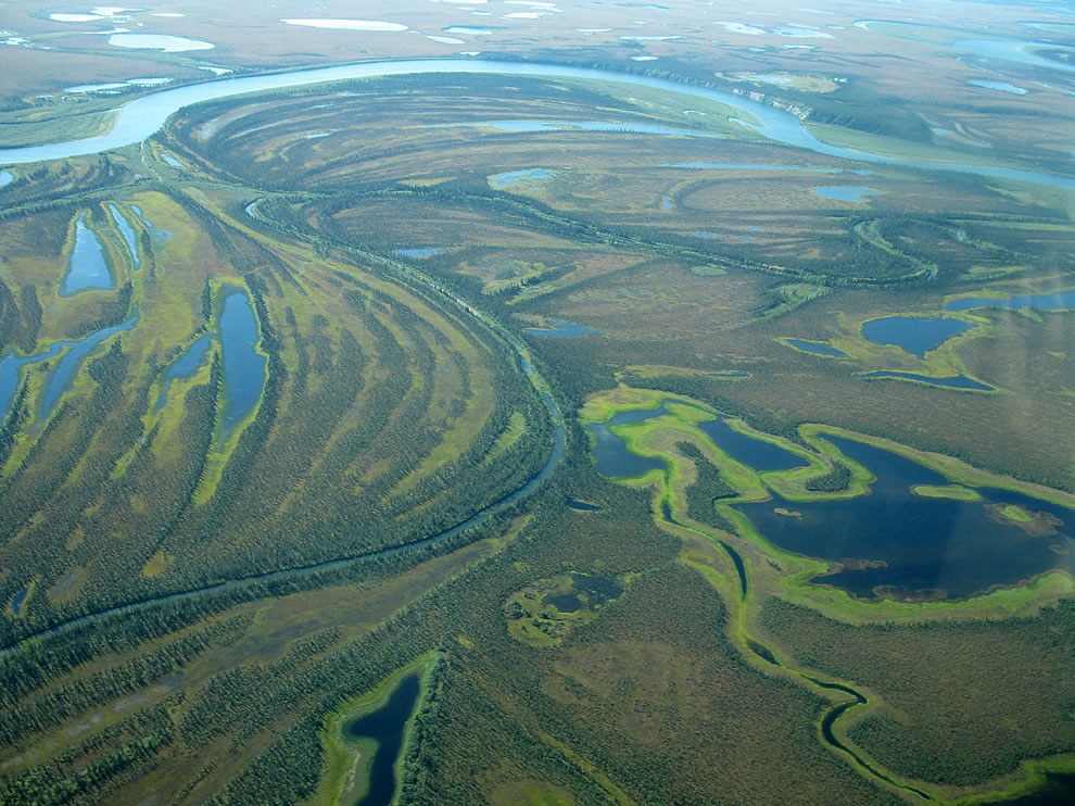 Kobuk River in Kobuk Valley National Park, Alaska