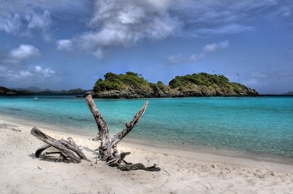 Trunk Bay at Virgin Islands National Park