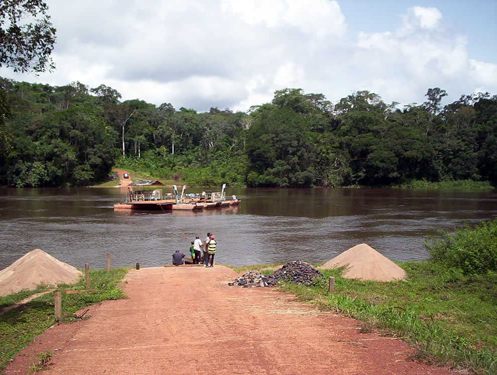 Dja Faunal Reserve in Cameroon, Africa, UNESCO World Heritage Site since 1987