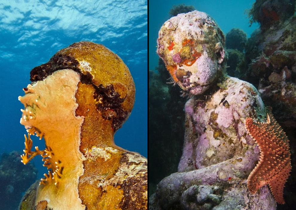 The change from art to artificial reefs