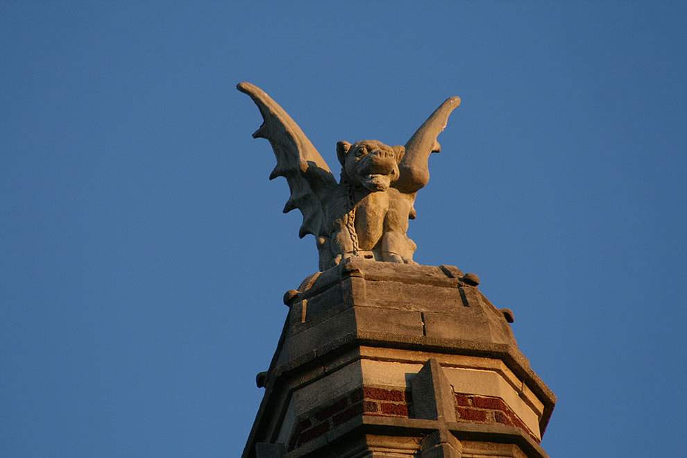 Waverly Hills, Gargoyle