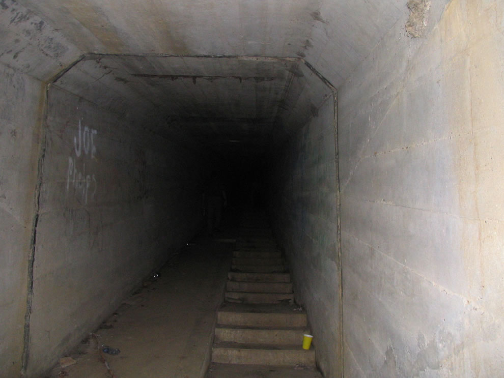 Waverly tunnel, body chute tunnel