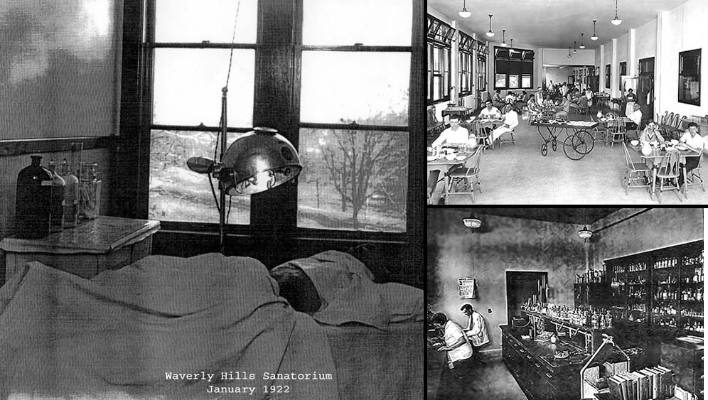 White Plague, aka tuberculosis outbreak at Waverly Hills Sanatorium