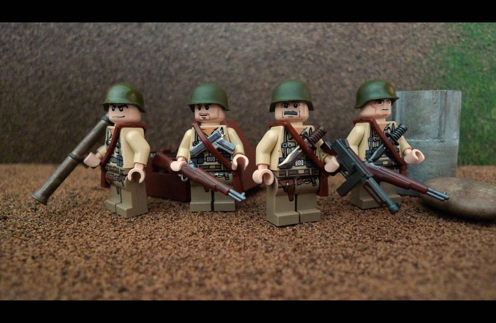 American WW2 Squad