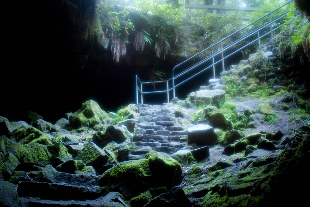 Ape Cave lava tube, a special place within Mount St. Helens National Volcanic Monument area