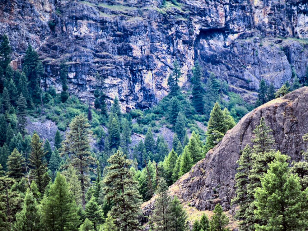 Colville National Forest, Sanpoil River Canyon, Pacific Northwest National Forests