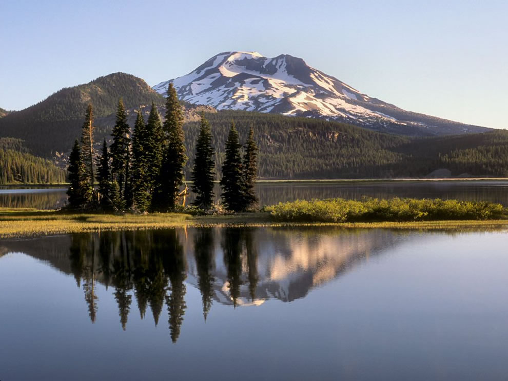 Deschutes National Forest, South Sister and Sparks Lake