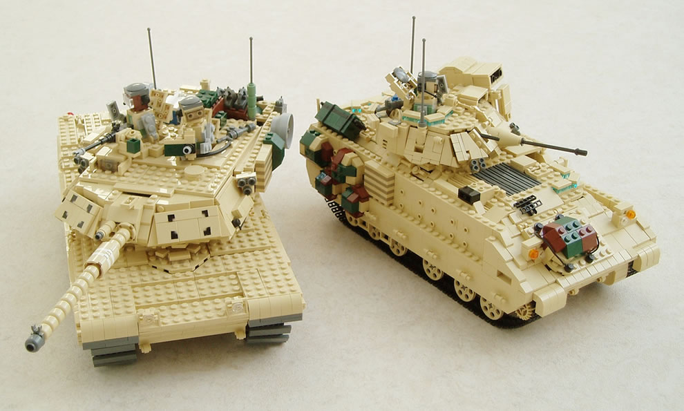M1A1 Abrams and M2A2 Bradley
